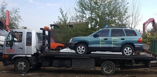 follow to scrap car